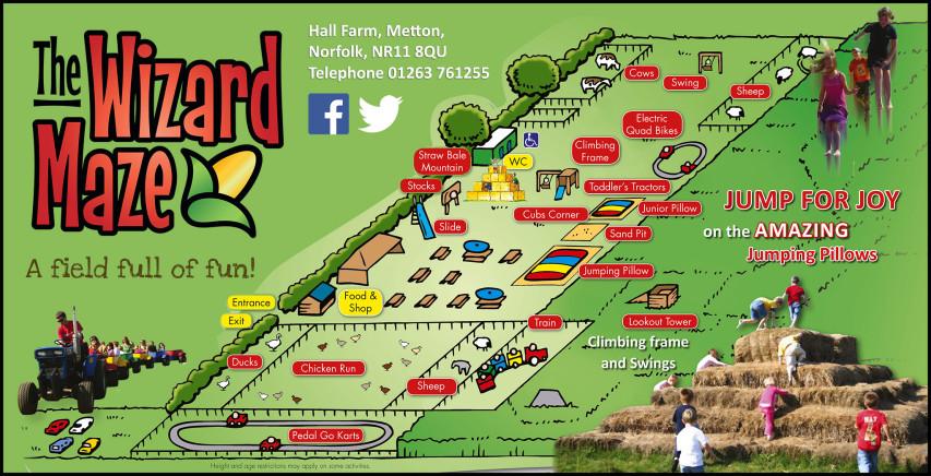 Wizard Maze Map